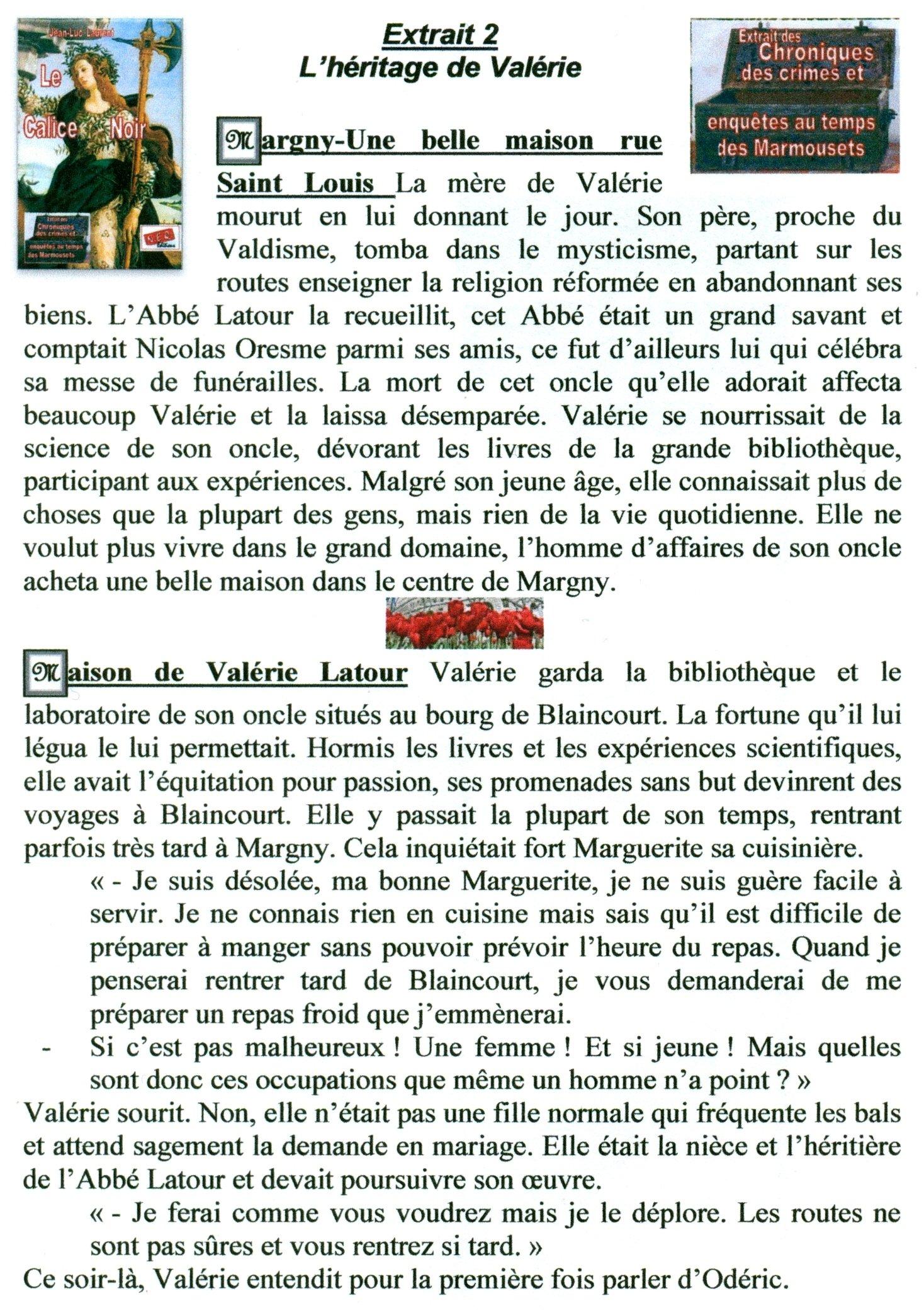Extr 2: L'héritage de Valérie  dans extraits numerisation0087